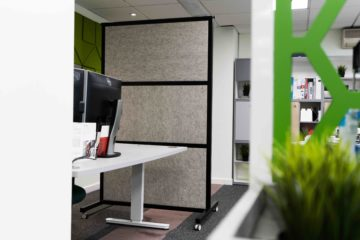Woolly Shepherd Natural Acoustic Office Screen